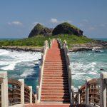 Ostrov Sanxiantai Taiwan