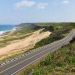 Pobřežní silnice v NP Kenting Taiwan