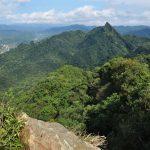 údolí Pingxi poblíž Taipei Taiwan