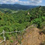 skalní město Pingxi Crags Taiwan
