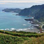 pěší turistika severní pobřeží Taiwanu