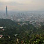Sloní hora a Taipei 101 Taiwan