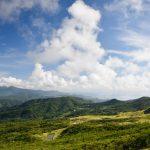 Pohled směrem na městěcko Fulong a mys Bitou