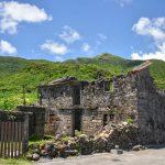 Pozůstatky původních stavení v Maotao