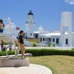 Oblíbené místo pro svatební fotografie, maják Sandiao