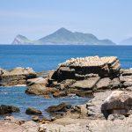 Výhled na Želví ostrov v oblasti Yilan