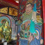 Brána chrámu v Tainanu