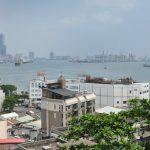 Kaohsiung pohled na přístav