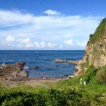 Pláž na Taiwanu