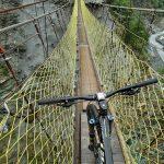 Soutěska Taroko, most, MTB
