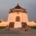 CKS Memorial Hall Taipei západ slunce